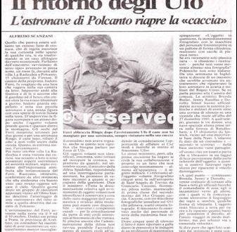 UFO A POLCANTO 1984