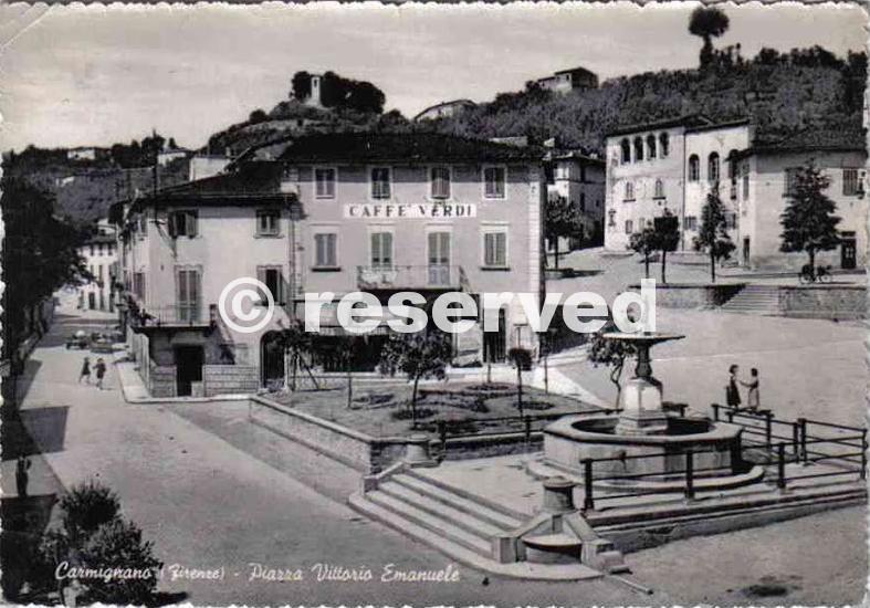 carmignano piazza vittorio emanuele 1957