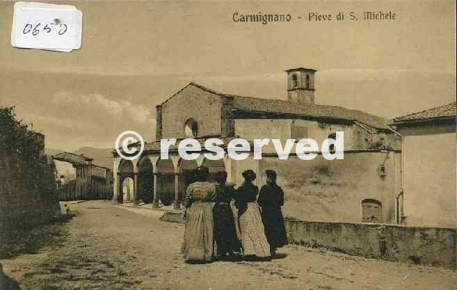 carmignano chiesa san michele(primi 900)