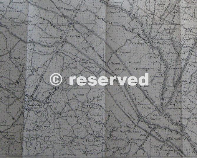 tizzana cartografia