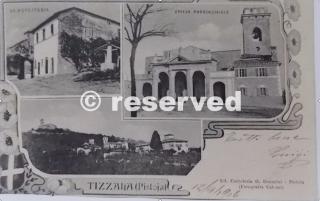 tizzana-primi 900 e Chiesa di San Bartolomeo