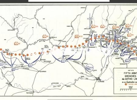 Fotos von der Schlacht der Gothic Line