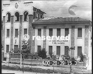 casa della Madre e del Bambino a Grosseto_wwii