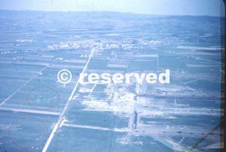 grosseto crateri di bombe sono visibili dalle numerose incursioni aeree alleate