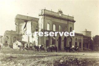 grosseto stazione bombardata 1943_wwii
