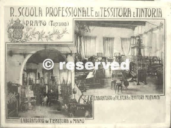 scuola tessitura prato probabile anni 30
