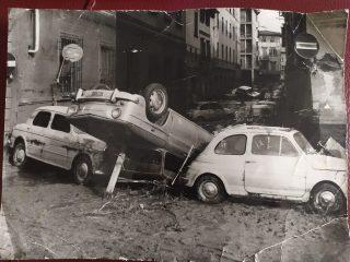 via da Verrazzano alluvione 1966