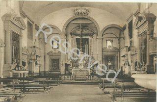 CARMIGNANO - INTERNO DELLA CHIESA DI S.MICHELE 1910