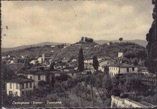Cartolina Carmignano Panorama Prato