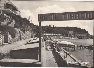 QUERCIANELLA LIVORNO SPIAGGIA BAGNI TIRRENO 1960