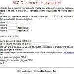 CALCOLARE MCD MCM ONLINE