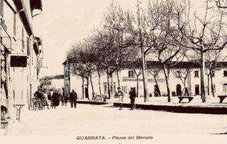 Quarrata Piazza del mercato