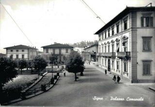 Firenze-Signa-palazzo-comunale 1955