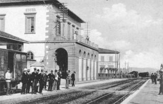 Signa-Firenze-La-Stazione-Ferroviaria 1913