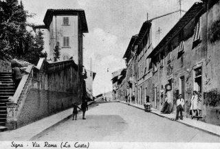 Signa-Via-Roma-La-Costa 1952