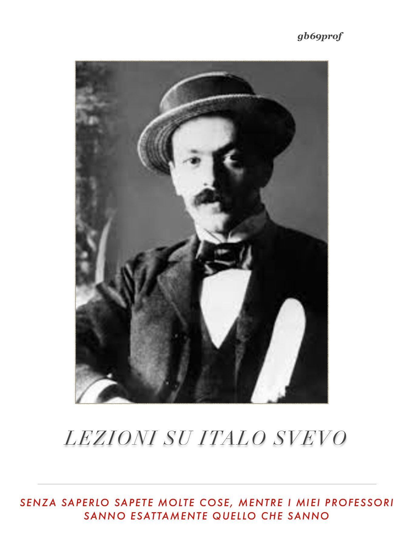 LEZIONI ITALO SVEVO PDF