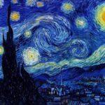 Arte Van Gogh notte stellata