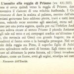L'ASSALTO ALLA REGIA DI PRIAMO VV 431-505 RIASSUNTO