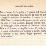 LA MORTE DI TURNO VV 919-952 RIASSUNTO